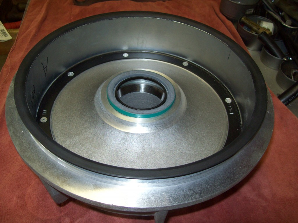 Component Fabrication - Fisher Wheels